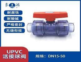 UPVC活接球阀